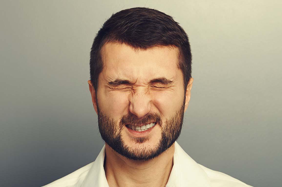 Man with benign essential blepharospasm