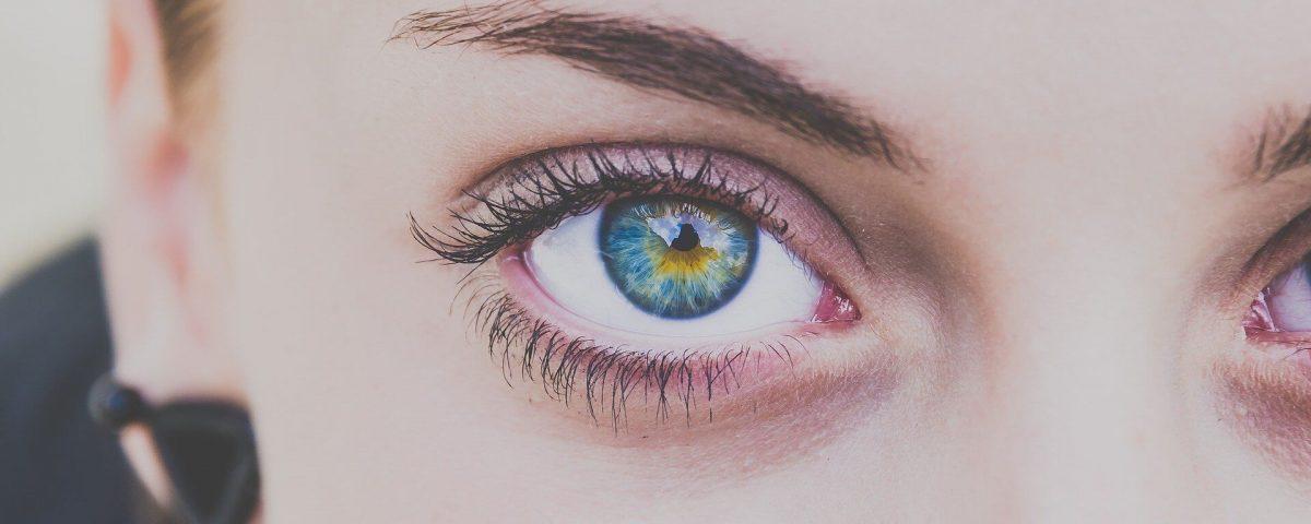 Woman Eye and Forehead