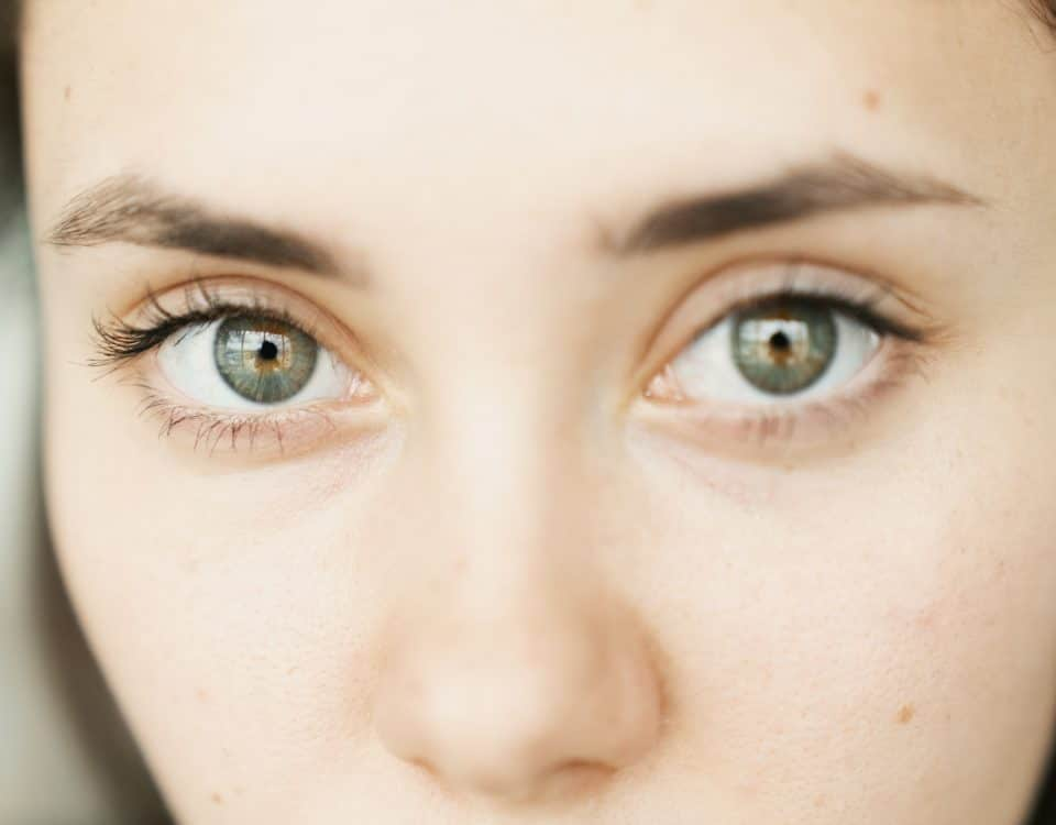 Woman with beautiful eyes